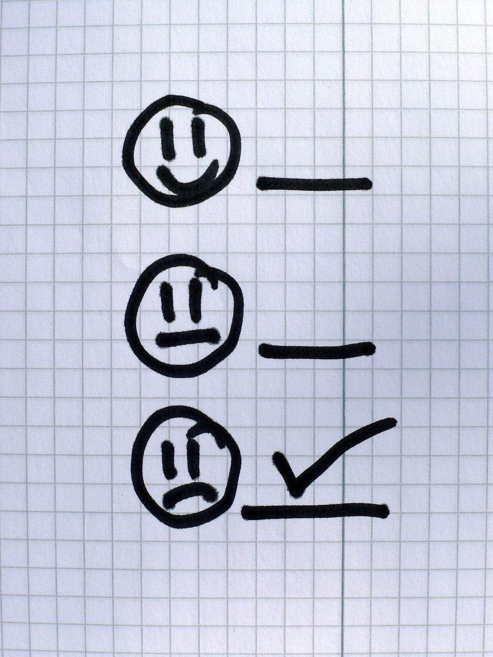stop negatief denken, geluksweg