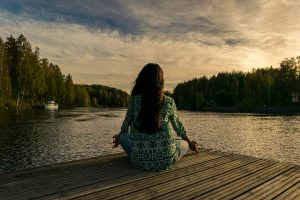 Stress verminderen - yoga