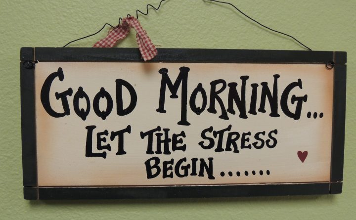 stress verminderen - quote