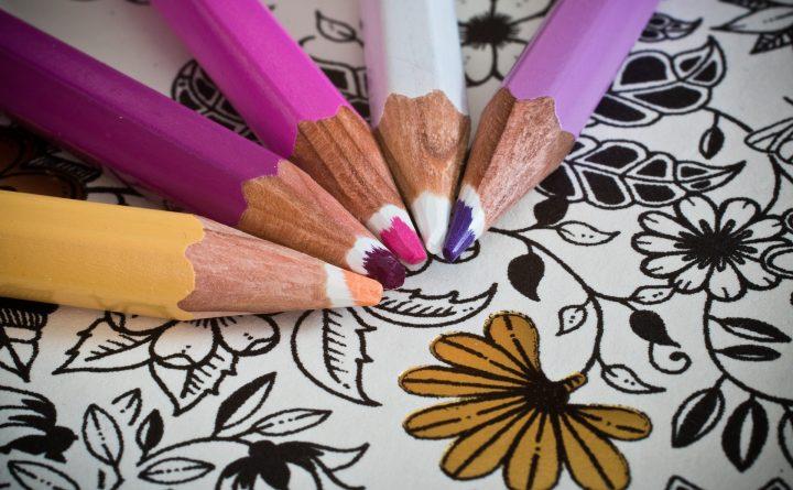Kleuren voor volwassenen - Geluksweg