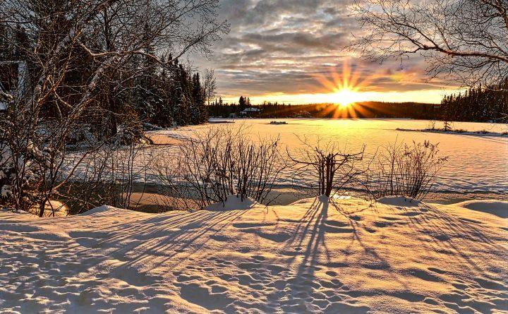 Gelukstip - naar buiten in de winter